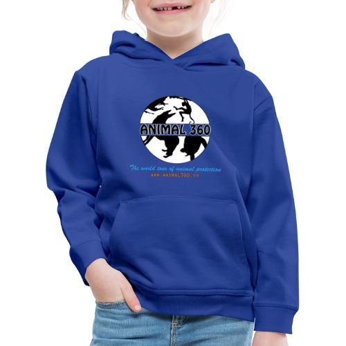 Animal360.fr - Pull à capuche Premium Enfant