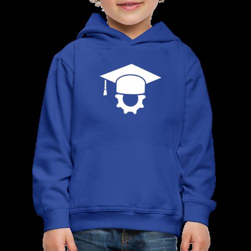 Ingenieur Doktorhut Maschinenbau Geschenk - Kinder Premium Hoodie