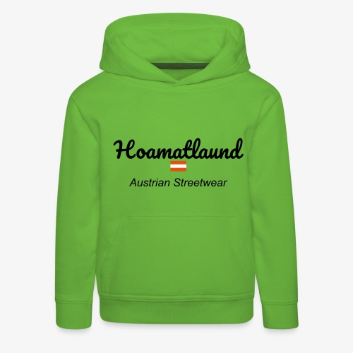 hoamatlaund austrain Streetwear - Kinder Premium Hoodie