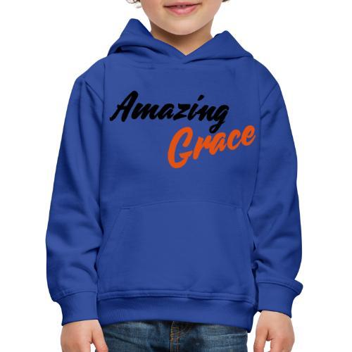 amazing grace - Pull à capuche Premium Enfant