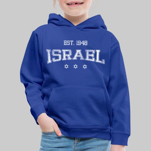 ISRAEL-white - Kids' Premium Hoodie