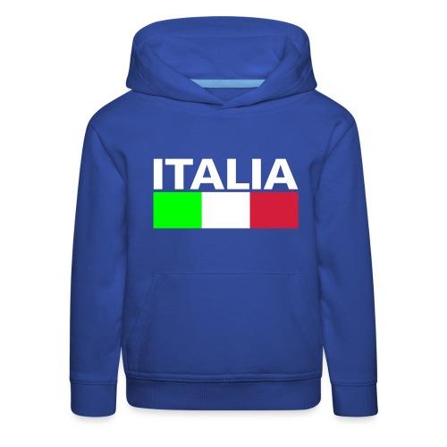 Italia Italy flag - Kids' Premium Hoodie