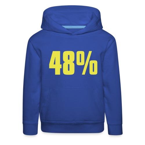 48% - Kids' Premium Hoodie