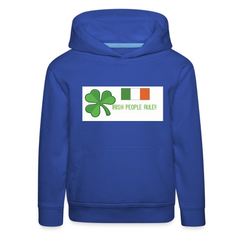 Exclusive St. Patrick's Day Clothes For Kids - Kids' Premium Hoodie