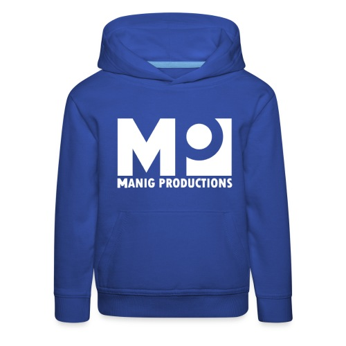 ManigProductions White Transparent png - Kids' Premium Hoodie