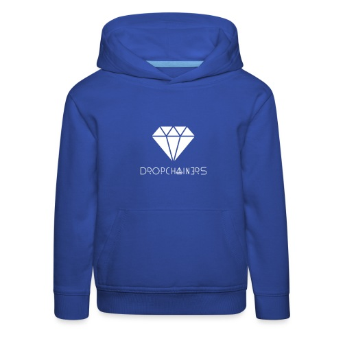 Dropchainers T-Shirt V-Ausschnitt - Kinder Premium Hoodie
