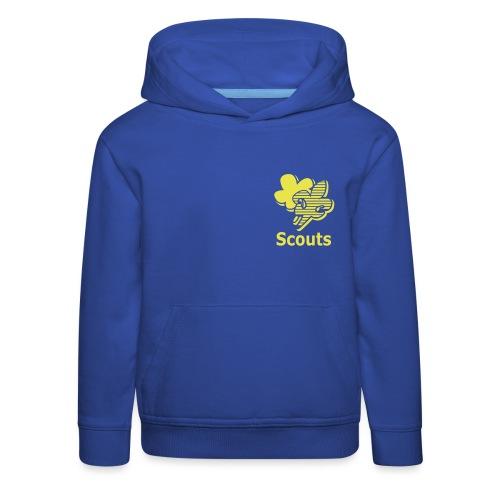 Scouts - Kinderen trui Premium met capuchon