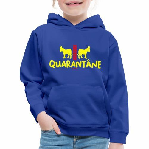 Quarantane - Kinderen trui Premium met capuchon