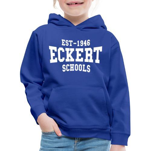 Eckert Old School 25cm weiß - Kinder Premium Hoodie