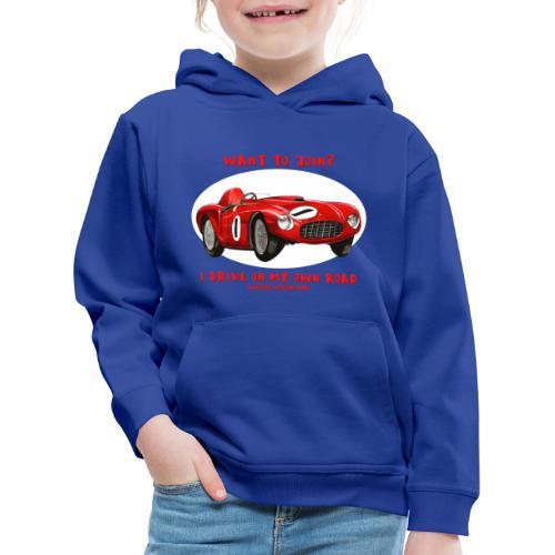 Happy Car Red - Premium-Luvtröja barn