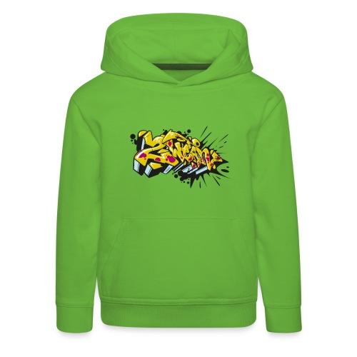 2Wear Toys graffiti slime - Premium hættetrøje til børn