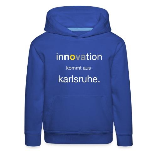 Innovation aus Karlsruhe - Kinder Premium Hoodie