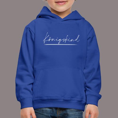 Koenigskind weiß - Kinder Premium Hoodie