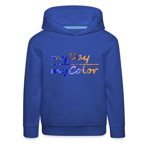 myDay Schriftzug - Kinder Premium Hoodie