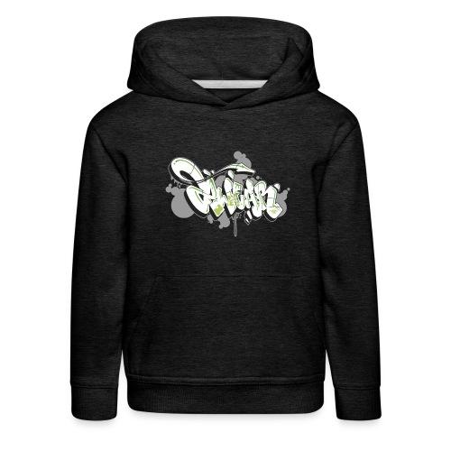 Mesk 2Wear graffiti style 7up ver02 - Premium hættetrøje til børn