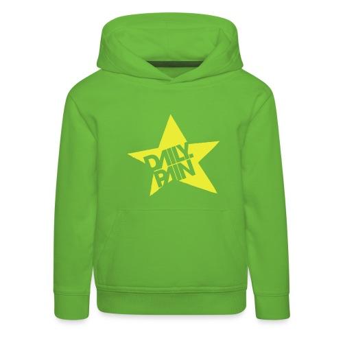 daily pain star - Bluza dziecięca z kapturem Premium