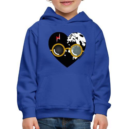 Spotted.Horse - Felpa con cappuccio Premium per bambini
