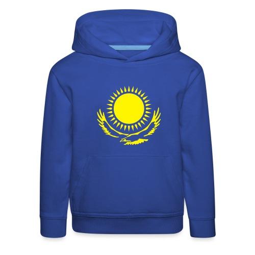 Kasachstan-Wappensymbol - Kinder Premium Hoodie