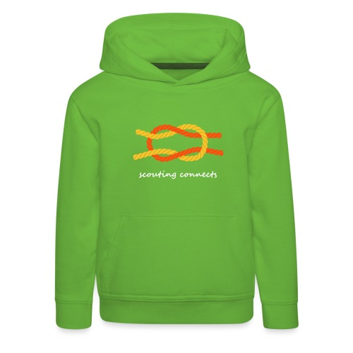 scouting connects - Kids' Premium Hoodie