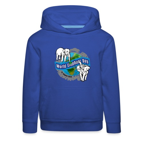 World Elephant Day 2020 - Kinder Premium Hoodie