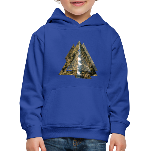 Triangle Tropical Palm Street - Kinder Premium Hoodie