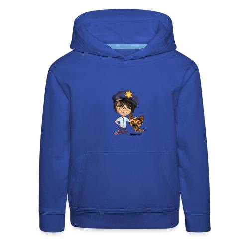 Jack and Dog - autorstwa Momio Designer Cat9999 - Bluza dziecięca z kapturem Premium