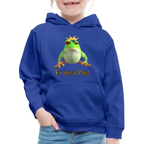 Ich bin ein Prinz - Kinder Premium Hoodie