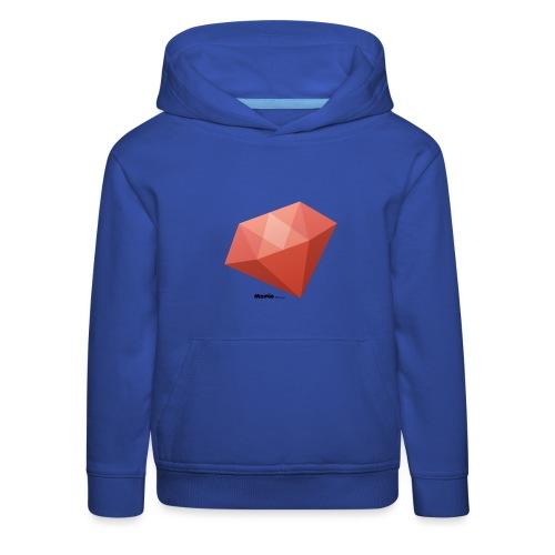 Diament - Bluza dziecięca z kapturem Premium