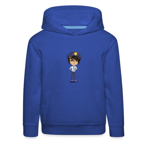 Momio police - Bluza dziecięca z kapturem Premium