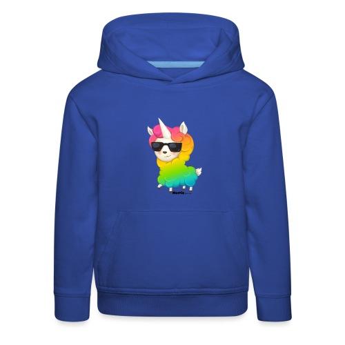 Rainbow animo - Premium Barne-hettegenser