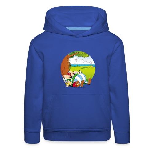 Astérix & Obélix Font Une Sieste - Pull à capuche Premium Enfant