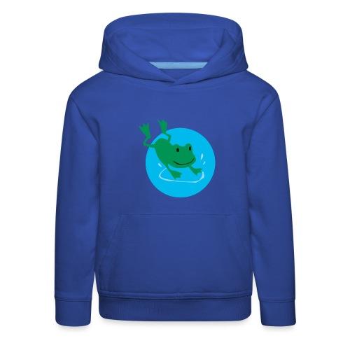 Frosch - Kinder Premium Hoodie