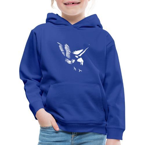 Aquila - Felpa con cappuccio Premium per bambini