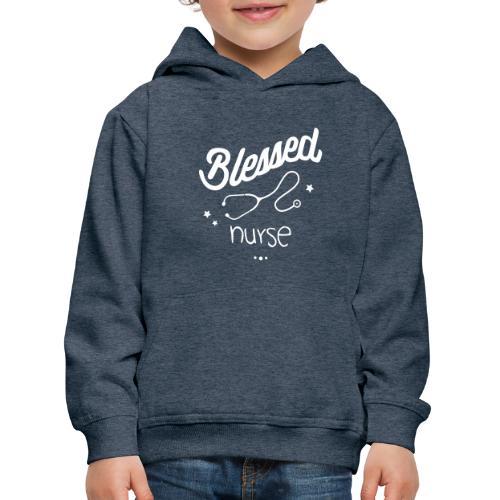 Blessed nurse - Pull à capuche Premium Enfant