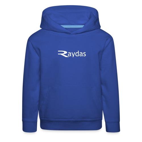 raydas vintage logo - Kinder Premium Hoodie