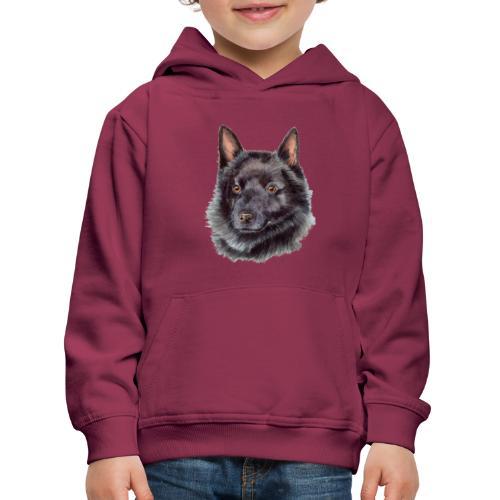 schipperke - akv - Premium hættetrøje til børn