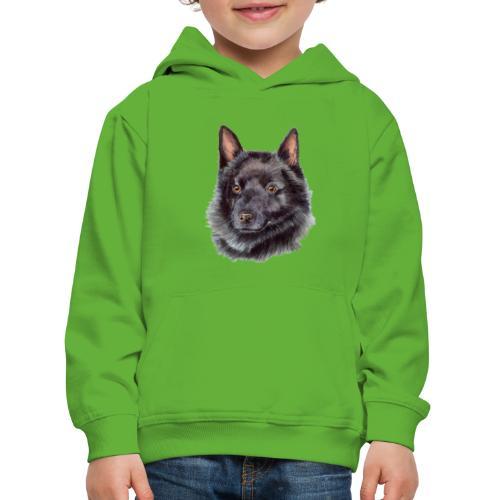 schipperke - M - Premium hættetrøje til børn