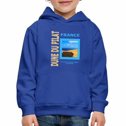 Dune du Pilat - Tshirt, tasses, masque ... - Pull à capuche Premium Enfant