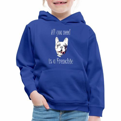 Französische Bulldogge T-Shirt Frenchie - Kinder Premium Hoodie