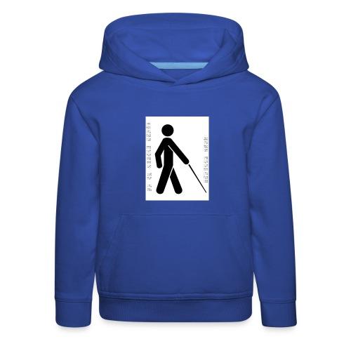 Blind T-Shirt - Kids' Premium Hoodie