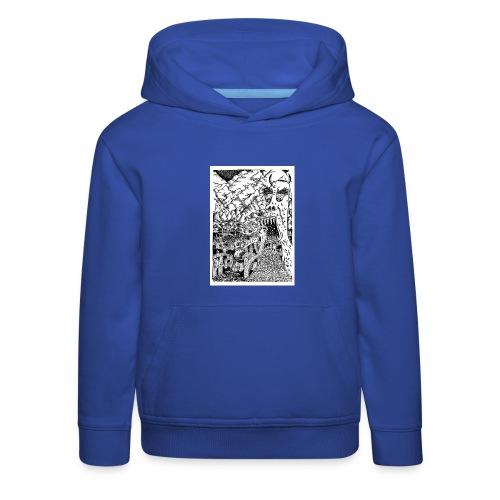 Sea Monsters T-Shirt by Backhouse - Kids' Premium Hoodie