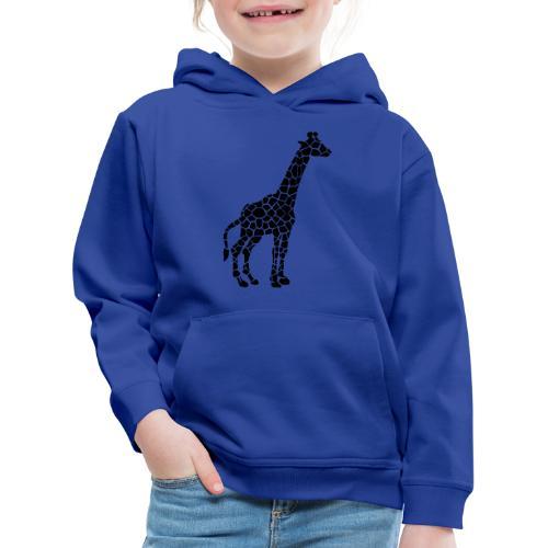 Giraffe (black) - Lasten premium huppari
