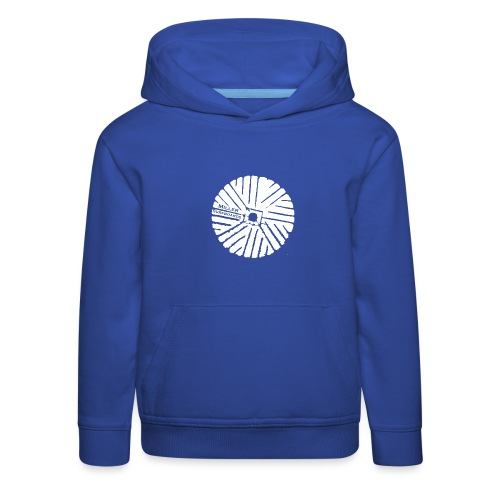 White chest logo sweat - Kids' Premium Hoodie