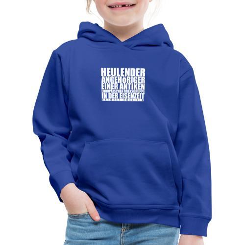 Gefühlskelte_VORNE - Kinder Premium Hoodie