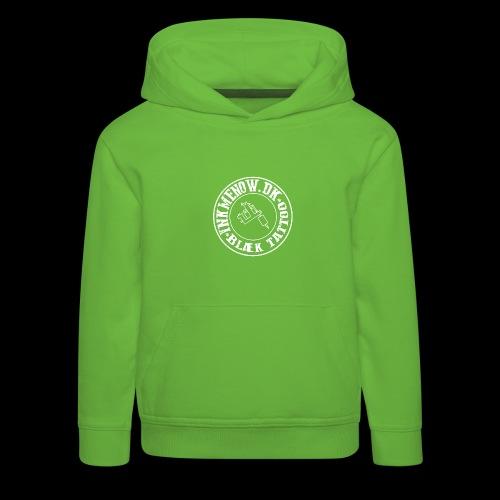 logo hvid png - Premium hættetrøje til børn