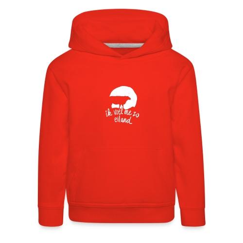 Eiland shirt - Kinderen trui Premium met capuchon