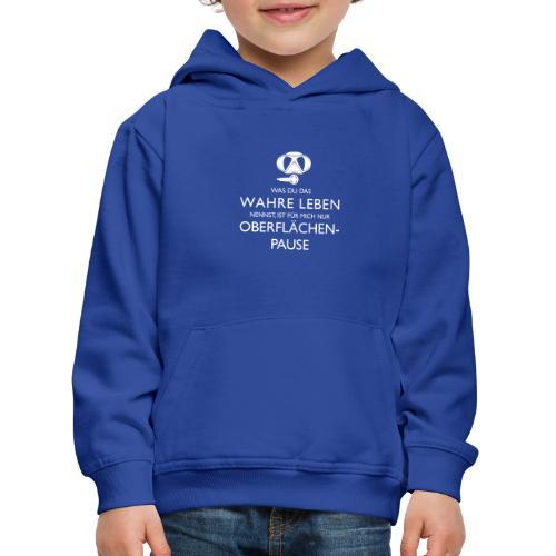 Oberflächenpause - Kinder Premium Hoodie