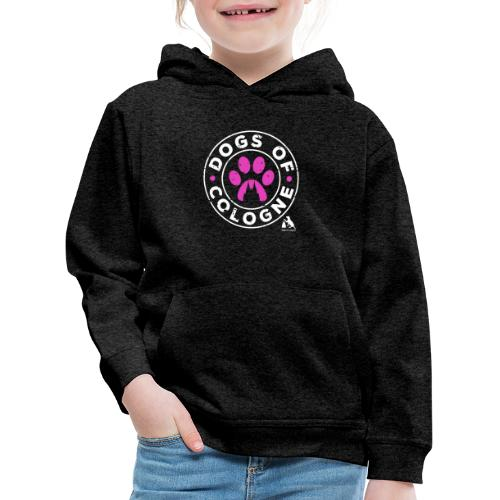 Dogs of Cologne - das Original! In Pink! - Kinder Premium Hoodie
