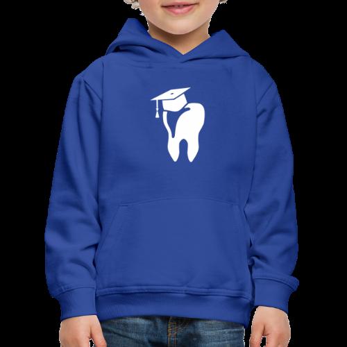 Zahn mit Doktorhut für Zahnarzt Zahnmedizin - Kinder Premium Hoodie