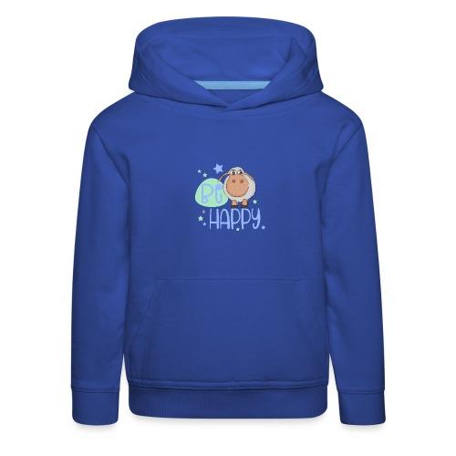 Be happy Schaf - Glückliches Schaf - Glücksschaf - Kinder Premium Hoodie